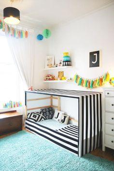 Cool Ikea Kura Beds Ideas For Your Kids Room16