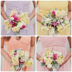 Pretty Pastels - The gorgeous photographs were captured by Mademoiselle Fiona. The beautiful florals were done by SPINA. Bridesmaid Dresses, Wedding Dresses, Pretty Pastel, Mood Boards, Pastels, Florals, Photographs, Table Decorations, Beautiful