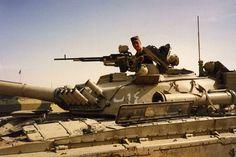 Seized Iraqi T-72M1, Operation Desert Storm.