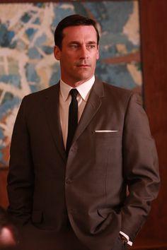 Don Draper (Jon Hamm) Episode 201 #madmen #menswear #suitandtie