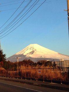 Mt.Fuji 富士山 1/9/2015 (Shizuoka Japan 静岡県裾野市)