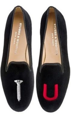 STUBBS AND WOOTTON FLATS - I would totally wear these everyday!