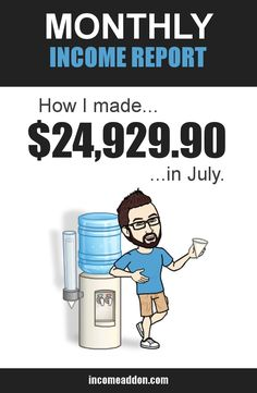 Check out how I made nearly $25,000 this month blogging. When I started a blog back in 2012, if you would have told me that I would be making over $20,000 per month, I would have said you were crazy. But with the system I have built I have been able to turn what was once a pipe dream into a very comfortable monthly income. In this post, I show you exactly how I make money blogging---and how you can, too.