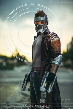 Guardians of the Galaxy StarLord Cosplay | Source: Junkers Cosplay, photo by Bigwhitebazooka Photography