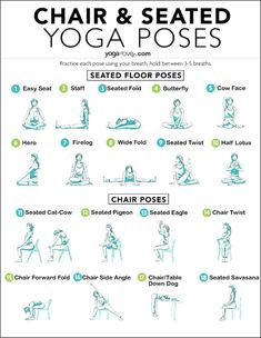 These seated yoga poses are perfect for anyone who wants to do yoga at home on a chair. Yoga is for everyone and this is perfect for yoga beginners Sitting Yoga Poses, Seated Yoga Poses, Yin Yoga, Yoga Meditation, Tai Chi, Chair Pose, Chair Yoga Poses, Breathe, Fitness Models