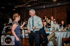 reception pictures at The Standard in downtown Knoxville by Amanda May Photos