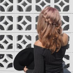 Waterfall braids forever! You can find my latest video tutorial for this on my Youtube chennel - hairromancetv. Hope you have a beautiful weekend xx