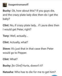 Funny Marvel Memes, Dc Memes, Avengers Memes, Marvel Jokes, Funny Puns, Marvel Tumblr, Deadpool Quotes, Deadpool Funny, Avengers