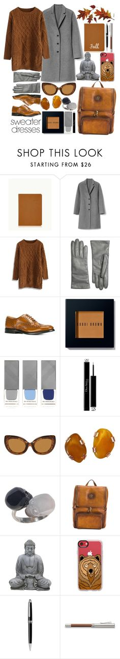 """""""Sweater Weather"""" by i-reti-illustration ❤ liked on Polyvore featuring GiGi New York, Gap, Chicwish, Brooks Brothers, Church's, Bobbi Brown Cosmetics, Burberry, Christian Dior, Casetify and Montblanc"""