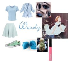 """""""Wendy Closet Cosplay"""" by thecrystalheart on Polyvore featuring John Lewis, Sonia by Sonia Rykiel, WithChic, Converse and Express"""