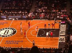 Nets vs Wizards, sent in from a happy customer.