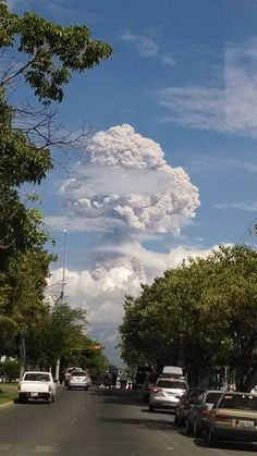 Saturday, November 22, 2014, 2:36 PM -The Colima volcano in western Mexico has erupted, sending a column of ash about 5 kilometres into the air.