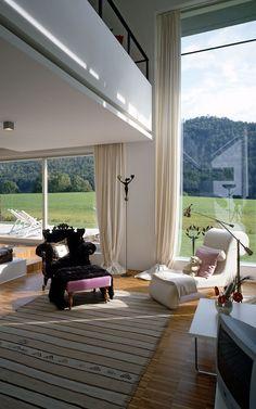 Dom w Riedering, Niemcy. Produkty: SGG CLIMAPLUS. #glass #architecture #glass_for_home
