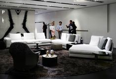 See the latest from leading Brands, Architects, Designers and Art Directors Stand Design, Sofa Design, Architects, Sofas, Designers, Colours, Table, Furniture, Home Decor