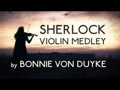 Sherlock Medley on Violin - Taryn Harbridge - YouTube