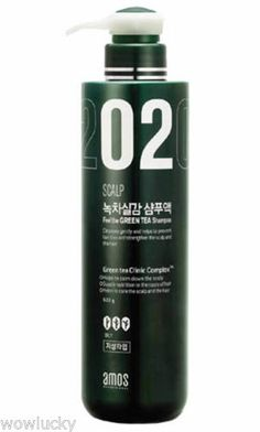 Hair Loss Prevention greenTea realize Shampoo oily type 500ml Prevention scalf