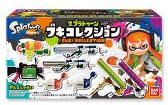 Splatoon Buki Collection Toys by Bandai
