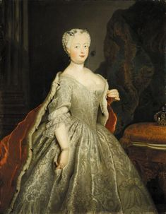 Queen Elisabeth Christine of Prussia by Antoine Pesne (auctioned by Sotheby's) | Grand Ladies | gogm