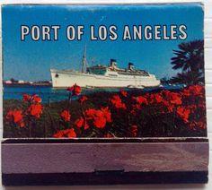 Port of Los Angeles -Design 2 #frontstriker #matchbook - To design & order your business' own logo #matches GoTo GetMatches.com