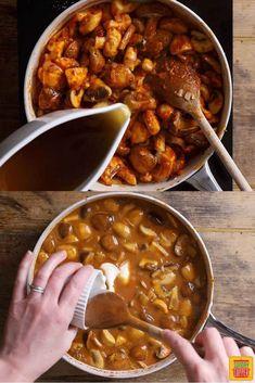 Rustic Hungarian Mushroom Soup Recipe | Sunday Supper Movement Supper Recipes, Pork Recipes, Vegetarian Recipes, Cooking Recipes, Chicken And Mushroom Pie, Mushroom Soup Recipes, Slow Cooker Brisket, Slow Cooker Lasagna, Love