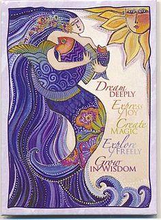 Inspiration:  Dream Deeply Express Joy Create Magic Explore Freely Grow in Wisdom