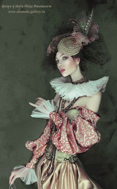 costume, makeup, hair, retouch by Alice Maximova alismaks gallery #SteamPUNK ☮k☮