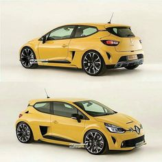 2017 CLIO RS V6? If made a reality, could mean a remake of a super duper mid V6 engined Clio! Fingers crossed! from @cliosportspain - Que os parecería este Clio V6? #cliosportspain #cliosport #stickers #cliowilliams #clio182 #clio197 #clio200 #clio172