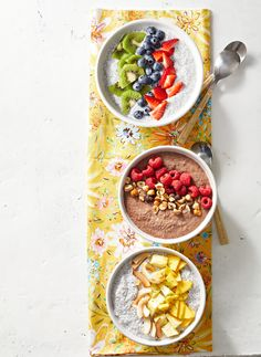 These High-Protein Breakfast Recipes Will Have You Looking Forward to Your Alarm Going Off — Better Homes & Gardens High Protein Breakfast, Breakfast Bowls, Brunch Recipes, Breakfast Recipes, Breakfast Ideas, Mousse, Healthy Snacks, Healthy Recipes, Detox Recipes