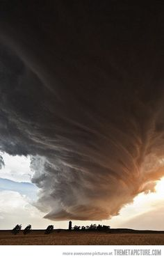 Storm Cell in Nebraska…