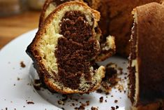 rezept einfach Marble cake: simply prepared and so good - cappu mum Simple Marble Cake Recipe, Marble Cake Recipes, Cake Tasting, Spice Cake, Lemon Desserts, Food Cakes, Easy Snacks, Baked Goods, Cake Decorating