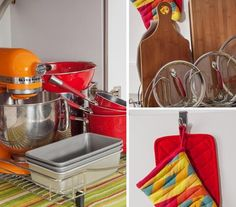 Organize Pots & Pans: The Tricks | No matter what you store there, these simple tricks and foolproof strategies will keep that area in tip-top shape.