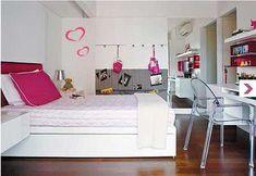 dicas de decoração de quartos femininos