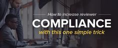 Increase Reviewer Compliance to 100% with This One Simple Trick!   #eventprofs #eventmanagement #eventtech   http://www.cadmiumcd.com/CadmiumCD/article.asp?ID=reviewer-compliance