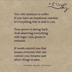 A little bit of advice