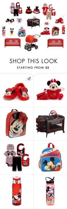 Mickey and Minnie Twins. Boy and Girl. Red