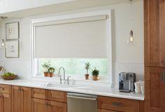 Burr Ridge Motorized Window Treatments Modern Window Treatments, Kitchen Window Treatments, Burr Ridge, Modern Windows, Window Coverings, Condo, Curtains, Home Decor, Blinds