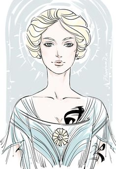 Grace Blackthorn by PhantomRin (#TLH Grace Blackthorn from the upcoming The Last Hours by Cassandra Clare | Also in the Midnight Heir, Bane Chronicles #4)