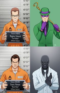 The Batman Villains