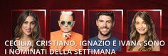 Grande Fratello Vip 2 televoto: nominati della decima settimana