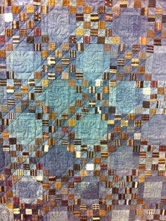 """A Quilter by Night: Tokyo Quilt Festival 2013 - Part 2 of 3 - Tomie Nagano """"Noragi 2000 Tsugi"""" exhibit"""