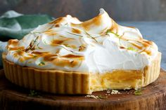 Marion Grasby's meringue pie is a zesty Asian twist on the classic favourite.