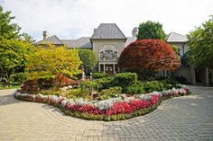 The French Chateau On Lakeshore Drive In Grosse Pointe Shores Owned By Art Van Elslander Is