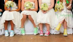 bridesmaids with converse - Google Search
