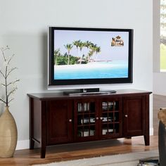 "InRoom Designs 54"" TV Stand  $209"