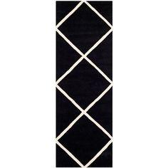 Safavieh Chatham Hand Tufted Wool Runner Rug - Walmart.com