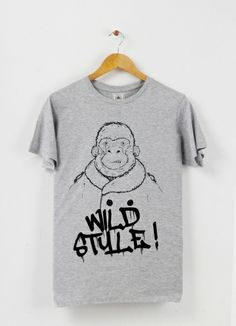 Tshirt col rond Wild Style by Max on Triaaangles
