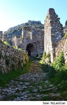 Mistra -- Medieval ghost town in southern Greece.
