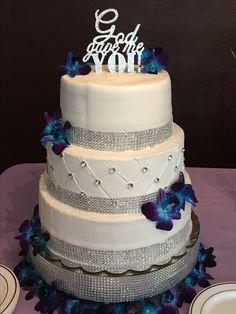 Very pleased with my beautiful wedding cake