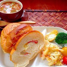 レシピとお料理がひらめくSnapDish - 35件のもぐもぐ - Leftovers lunch残り物ランチ by Ami