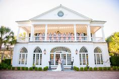 Katie & Kyle's summer wedding at Lowndes Grove Plantation in Charleston, South Carolina | Photo by Dana Cubbage